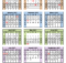 Fiscal Calendars 2021 Free Printable Excel Templates
