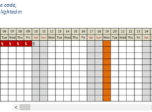 Free Excel Leave Tracker Template Updated For 2020