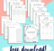Free Download 2020 2021 Printable Planner Updated For